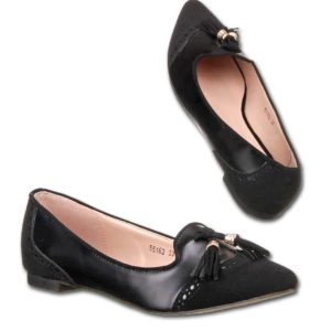 """Balerinke 55162. črne"" - Kategorije  ""Ženski čevlji  Balerinke"""