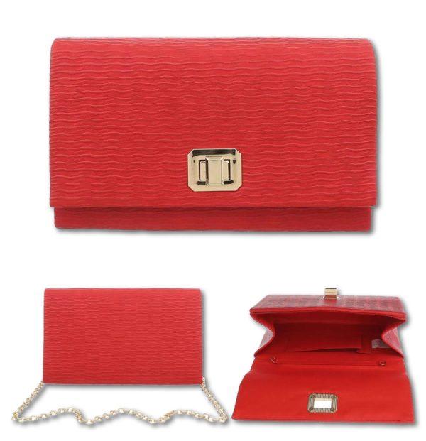 """Elegantna torbica 694. rdeča"" - Kategorije  ""Modni dodatki  Ženske torbice"""