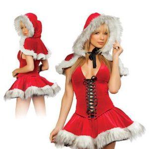 """Kostum božička Lil Red"" - Kategorije  ""Pustni kostumi 2020  BOŽIČNI KOSTUMI"""