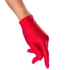 """Rokavice satenaste kratke rdeče - Kategorije  """"Pustni kostumi 2020  Dodatki za kostume"""""""