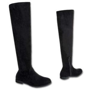 "Ženski škornji visoki čez koleno 887 črni - Kategorije  ""Ženski čevlji  Ženski škornji"""