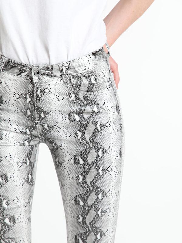 Bombažne hlače z živalskim vzorcem za Spedenano