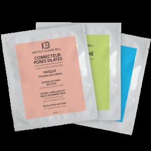 Darilni paket maske tris kozmetika hialuron kolagen