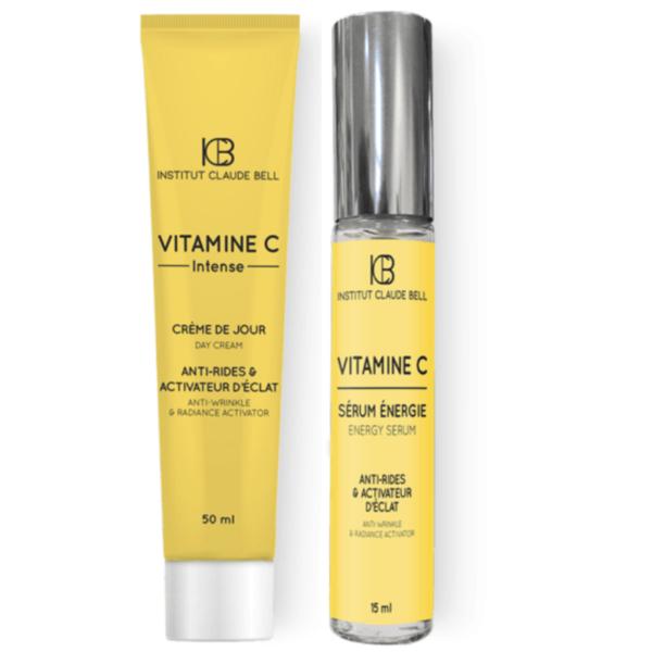 Darilni paket z vitaminom C - anti age krema in serum