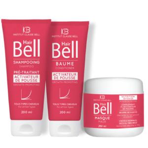 Komplet za hitrejšo rast las Hair Bell šampon