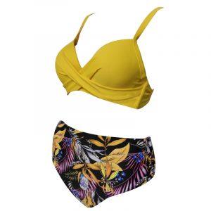 kopalke z visokim pasom bikini kvaliteta in moda